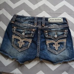 Rock Revival Shorts Angie 28 Cut off